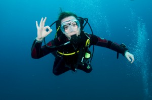 Diving for novices and people with medical conditions