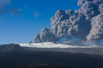 Eruption of Mt. Eyjafjallajokull