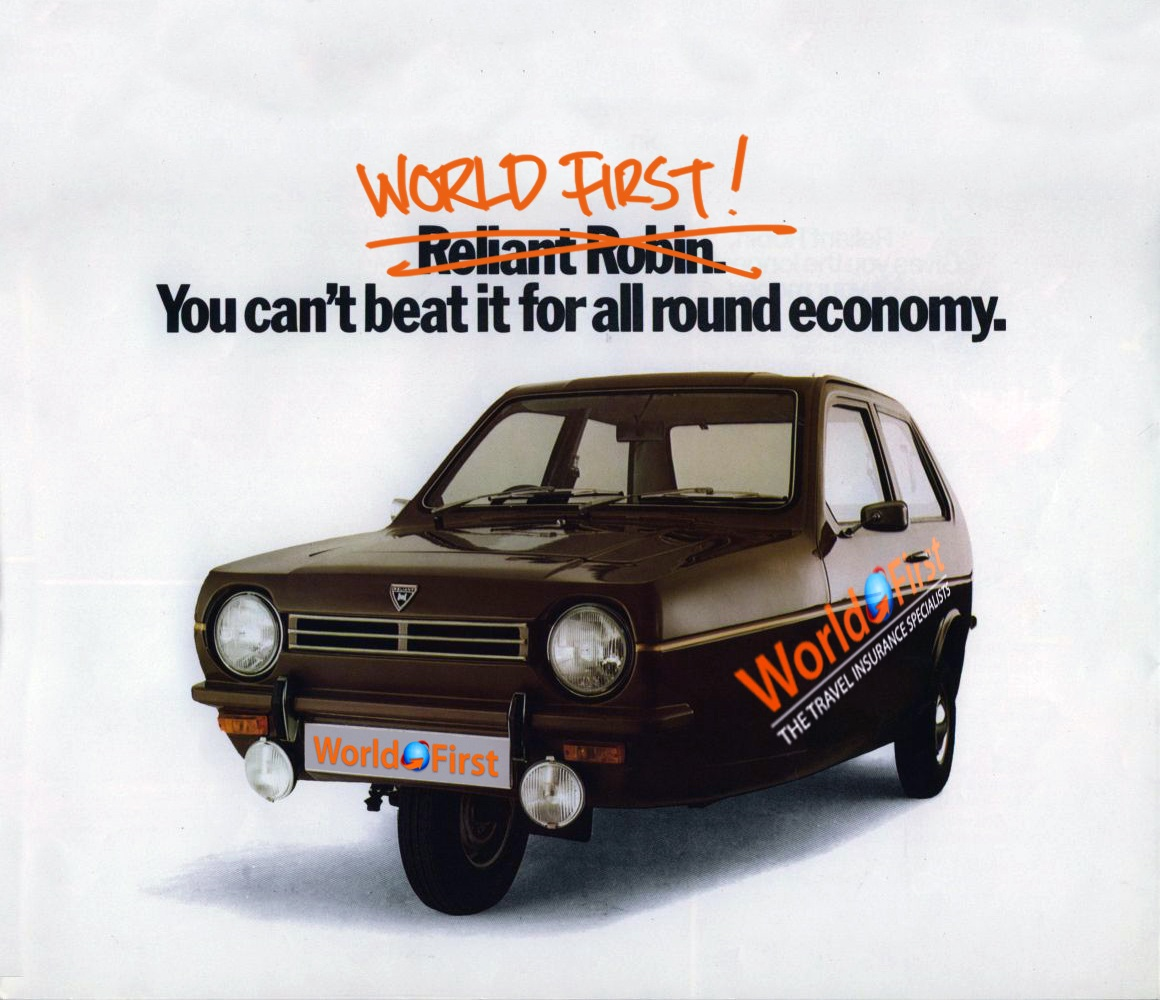 London to Mongolia in Robin Reliant? That's the plan!