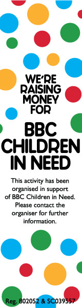 We're supporting Children In Need