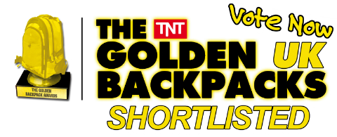 We've been shortlisted in the Golden Backpack Awards