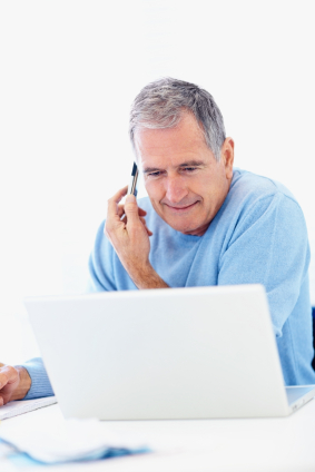 87 percent of over 55s are planning their holidays online