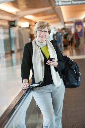 Smartphone app makes air travel easier