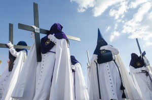 Seville: huge parades celebrate Easter during a week long revel.