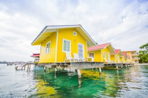 Caribbean Panama. Clear sea. Cool houses. What's not to love about this colourful country?