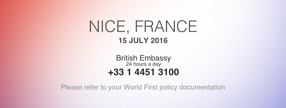 Truck attack in Nice: advice for British travellers