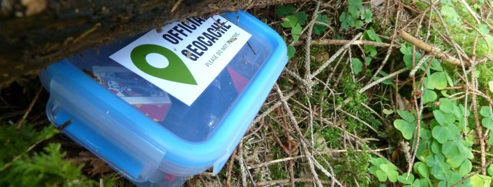 5 Healthy things to do with kids this half term geocaching