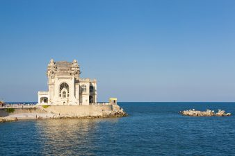 The beautiful old casino, a landmark for the city of Constanta, Romania.