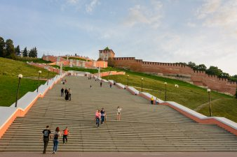 It might be tricky to pronounce, but don't let that put you off. Nizhny Novgorod is a fascinating city to explore - so don't just come here for the football...